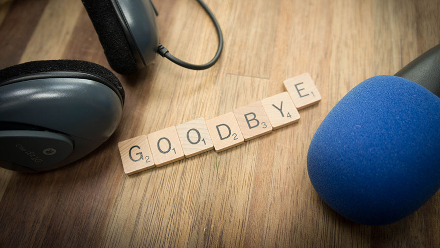 Kroniek van een aangekondigd afscheid