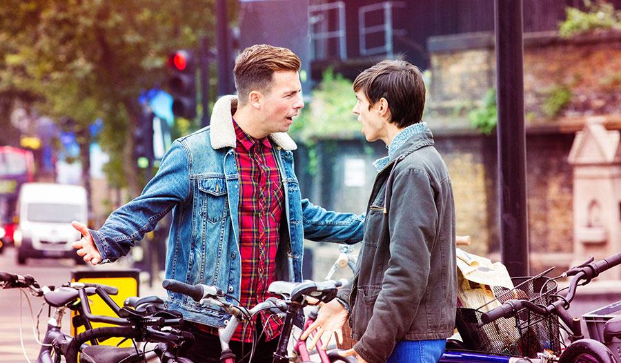 """""""Andere mannen zouden vaker moeten zeggen: dude, not cool."""""""