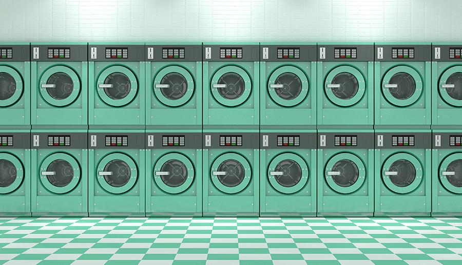 Een spannende ontmoeting in de wasserette
