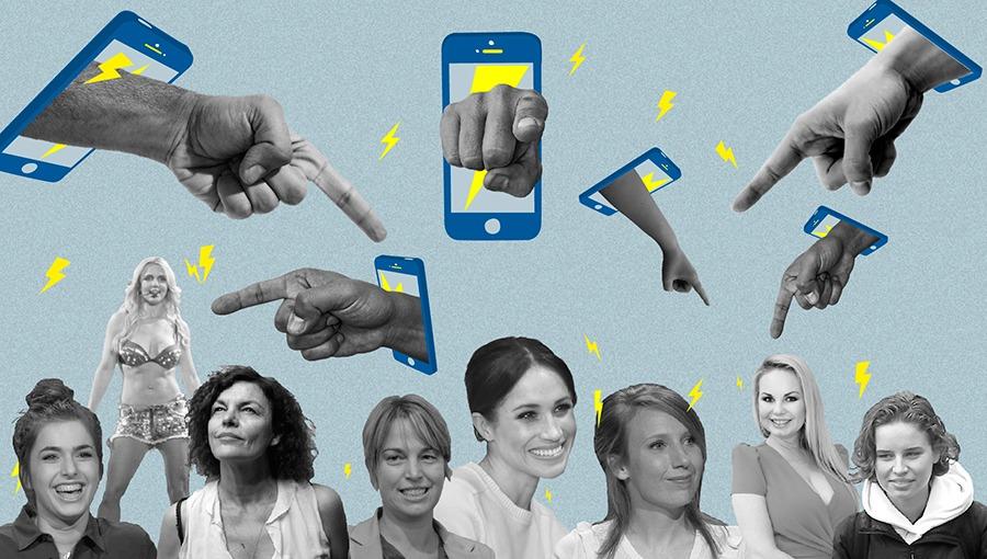 Ook Belgische beroemdheden worden steeds vaker online gebasht